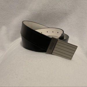 Kenneth Cole Reaction Men's Leather Belt Sz 32/80